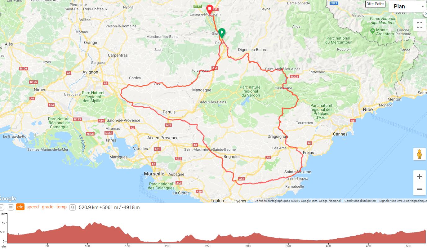 20 04 19 A bike ride in Salignac Provence Alpes Côte d Azur